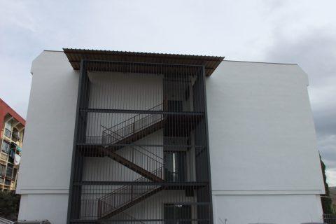 Rehabilitación Fachada. Colegio Santa Cristina de Granada