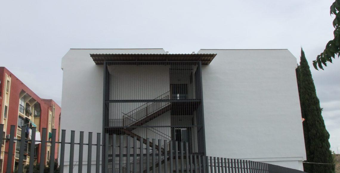 Rehabilitación de fachada para colgio santa cristina
