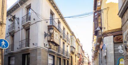 Rehabilitación en Granada centro - calle San Matías - Navas