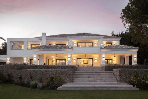 Reforma de villa de lujo en Marbella